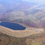 Widok na zbiornik elektrowni szczytowo-pompowej